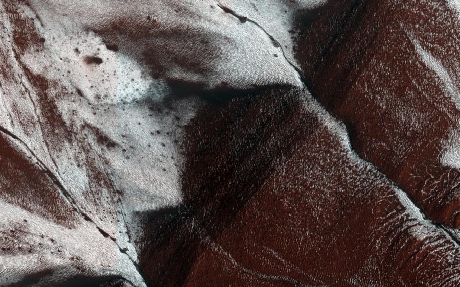 Zdjecia planety Mars udstępnione przez NASA