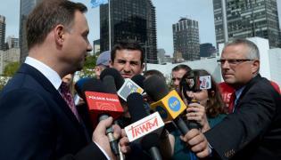 Andrzej Duda w Nowym Jorku