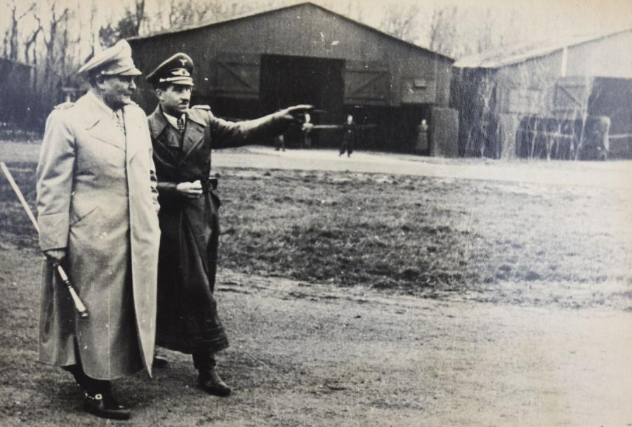 Hermann Goering i gen. Adolf Galland