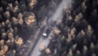 Zdjęcia rosyjskiego drona nad Syrią