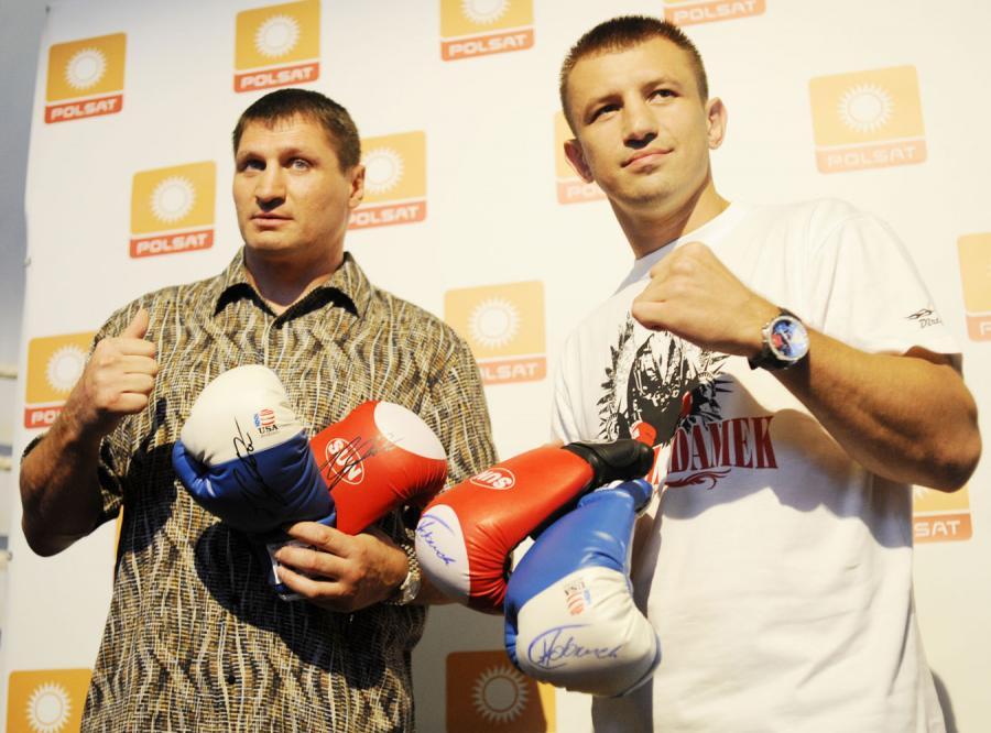 Andrzej Gołota już nie może się doczekać walki z Tomaszem Adamkiem