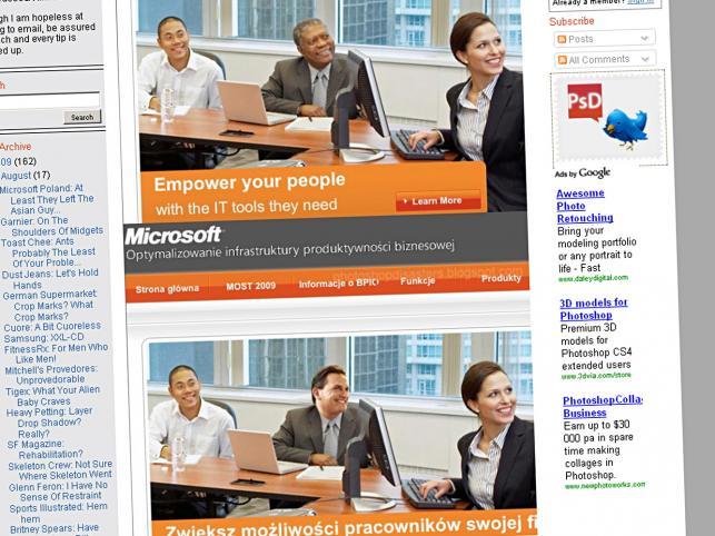 Microsoft dla Polski wybielił czarnoskórego