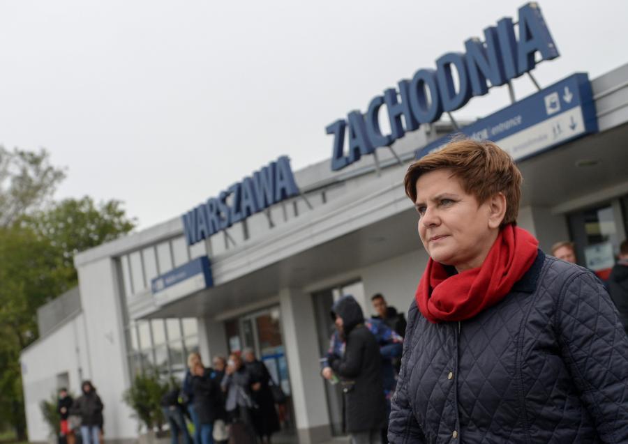 Kandydatka PiS na premiera Beata Szydło