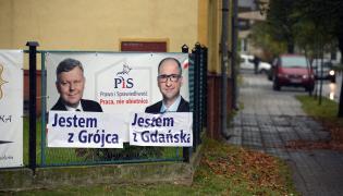 Plakaty wyborcze w Radomiu