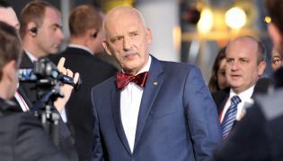 Lider partii KORWIN Janusz Korwin-Mikke