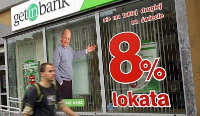 Getin Bank coraz droższy