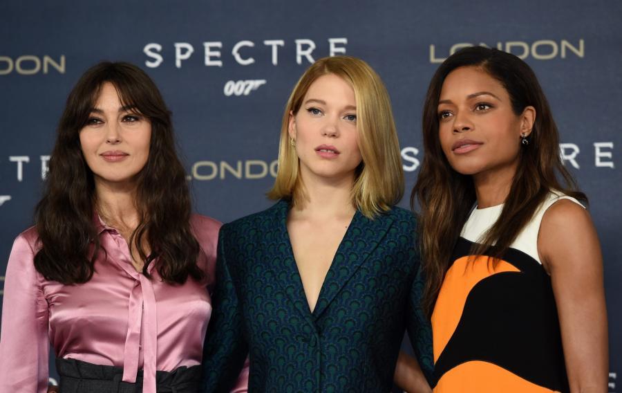 Monica Bellucci, Lea Seydoux i Naomi Harris