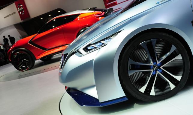 Nissan IDS czyli nowy nissan leaf z Tokio