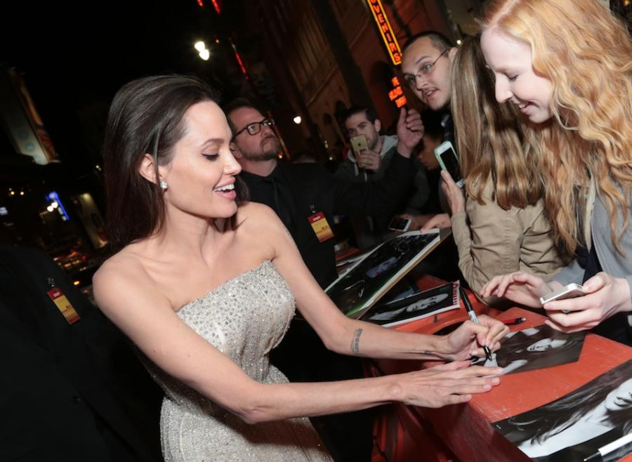 Angelina Jolie na hollywoodzkiej premierze swego nowego filmu