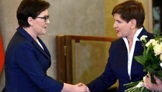 Ewa Kopacz i Beata Szydło