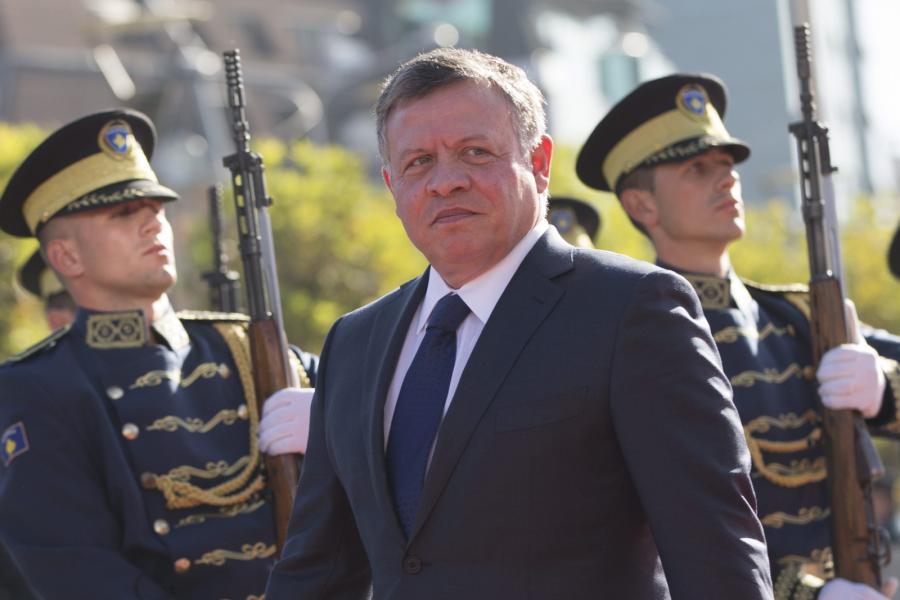 Król Jordanii Abdullah II