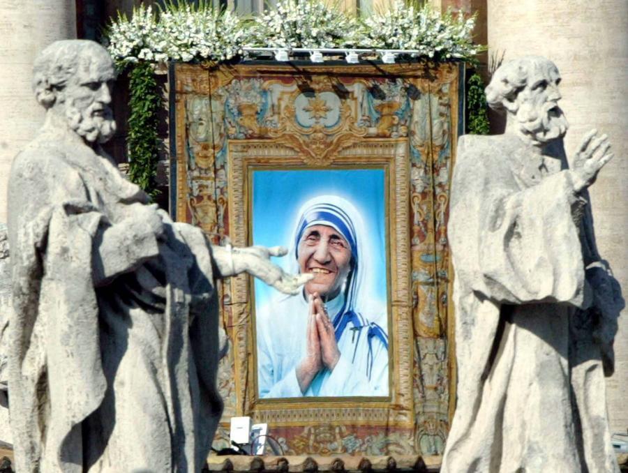 Msza beatyfikacyjna matki Teresy