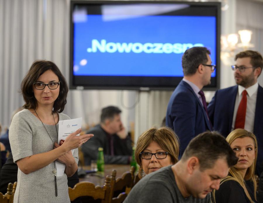 Politycy Nowoczesnej w Sejmie