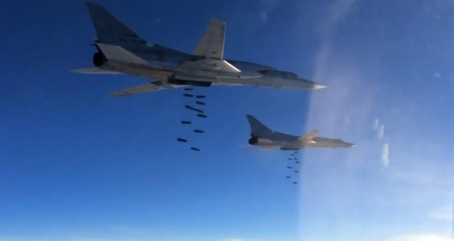Rosyjskie naloty na ISIS