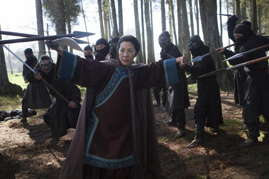 "Michelle Yeoh w filmie ""Crouching Tiger, Hidden Dragon: Sword of Destiny"""