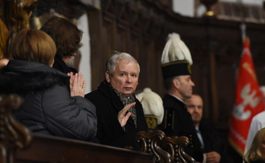 Miesięcznica katastrofy smoleńskiej - Jarosław Kaczyński