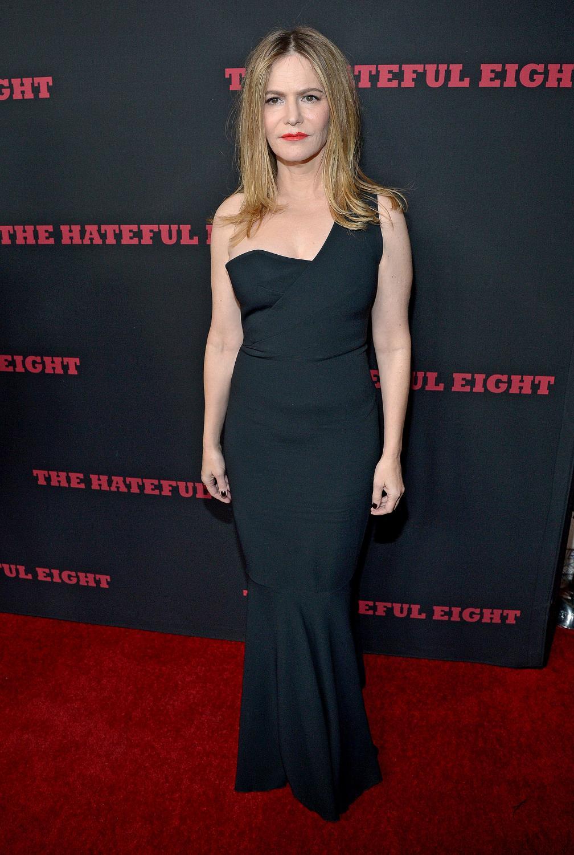 """Jennifer Jason Leigh na premierze filmu """"Nienawistna ósemka"""""""