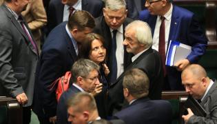Joanna Lichocka i posłowie PiS