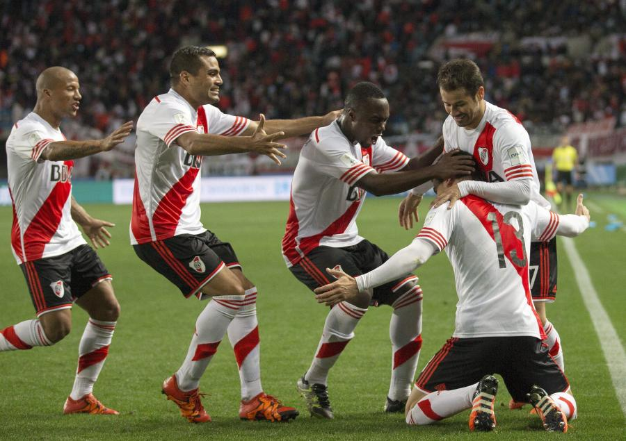 Radość piłkarzy River Plate