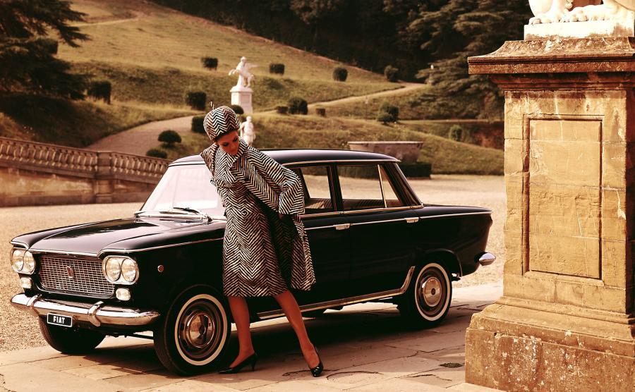 """Fiat 1300/1500 nazywany też """"wanną"""" - to techniczny protoplasta Fiata 125p, który był produkowany w latach 1961-1967"""