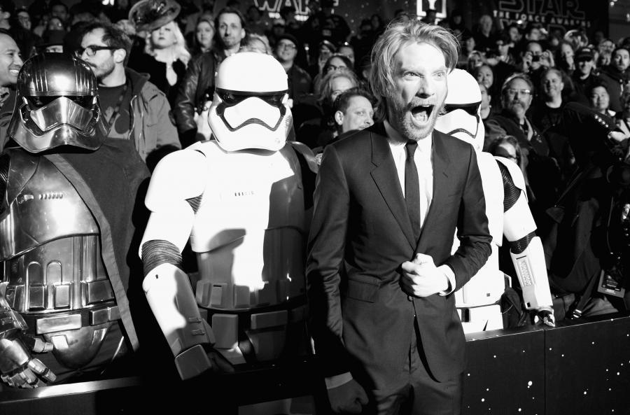 """Domhnall Gleeson na premierze """"Gwiezdnych wojen"""""""