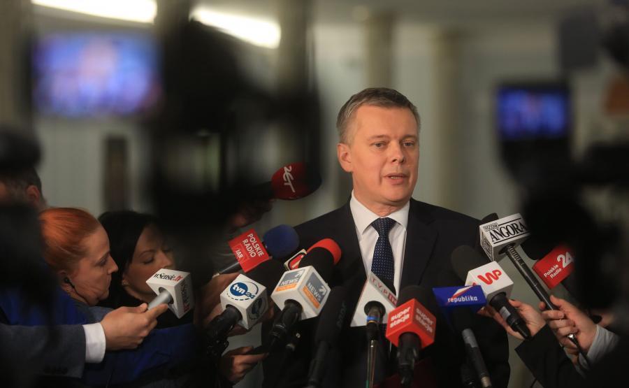 Tomasz Siemoniak w Sejmie