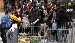 Imigranci w Grecji