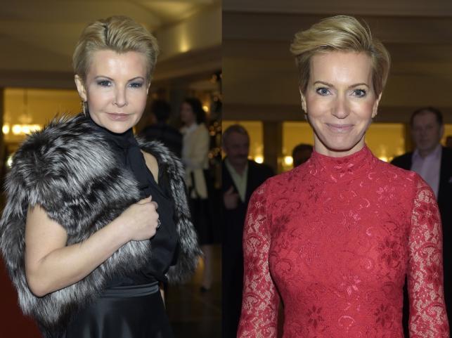 Joanna Racewicz i Paulina Smaszcz-Kurzajewska