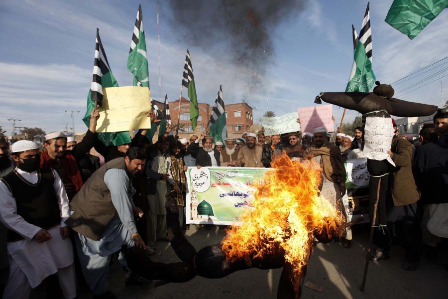 Antyirańskie protesty