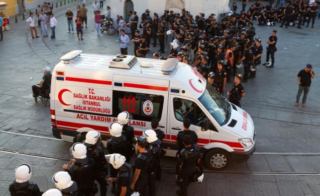 Ambulans w Stambule
