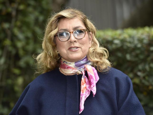 Przemija uroda w nas... Romina Power w Rzymie (20.01.2016)