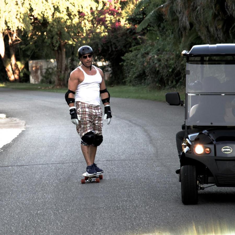 Vin Diesel na zdjęciach z treningów przygotowujących go do roli