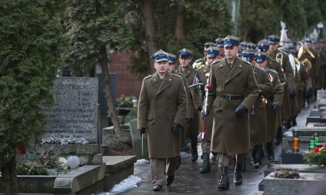 Pogrzeb Bogusława Kaczyńskiego na Powązkach. Wicepremier Gliński: Kochał artystów [ZDJĘCIA]