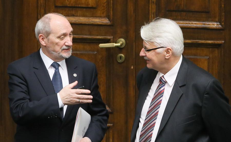 Antoni Macierewicz i Witold Waszczykowski