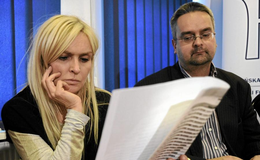 Monika Olejnik i Wojciech Czuchnowski