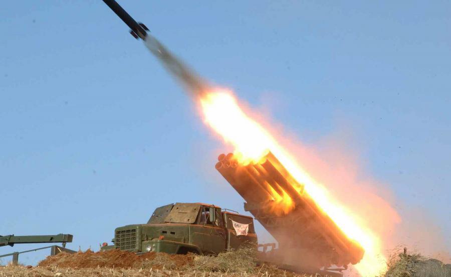 Korea Północna. Test rakiety krótkiego zasięgu