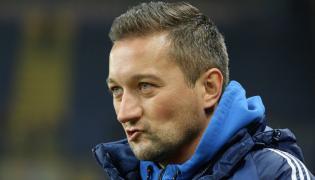 Trener Wisły Kraków Marcin Broniszewski