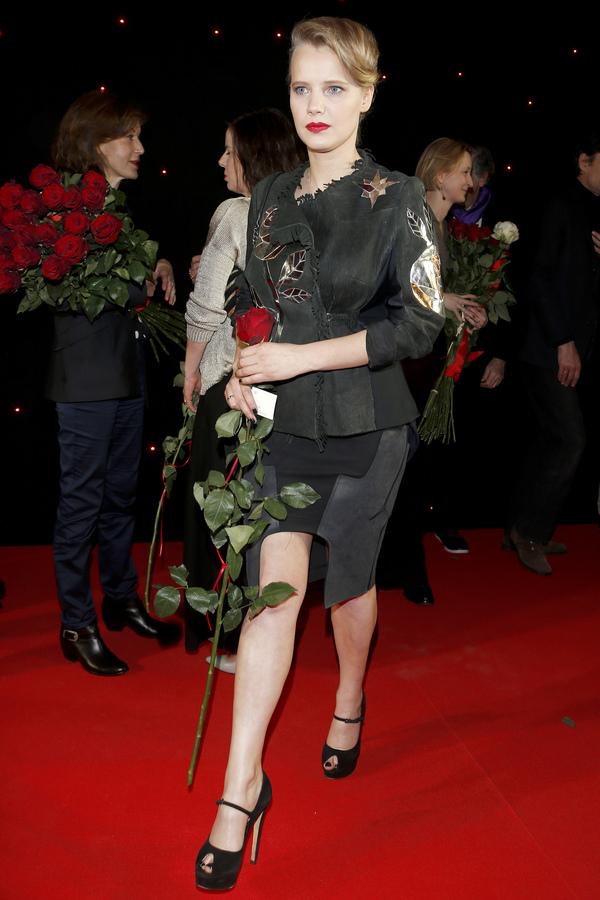 "Joanna Kulig na premierze filmu ""Niewinne"""