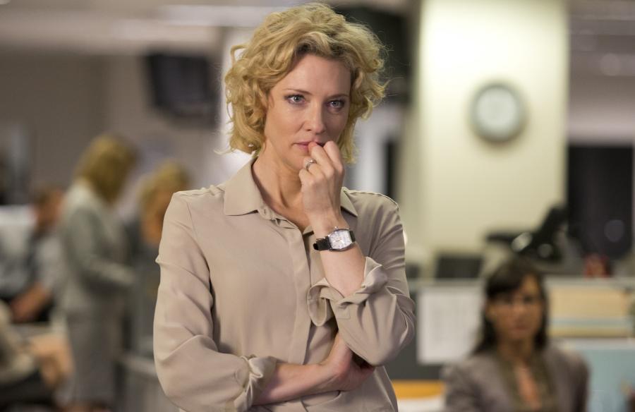 Cate Blanchett jako Mary Mapes w dramacie \