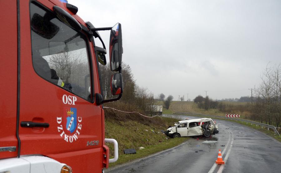 Wypadek koło Kolbuszowej