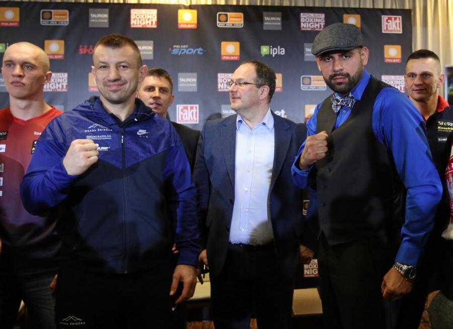 Tomasz Adamek i Eric Molina