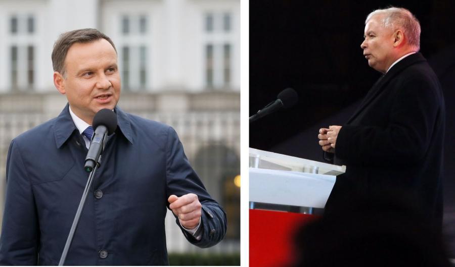 Andrzej Duda i Jarosław Kaczczyński