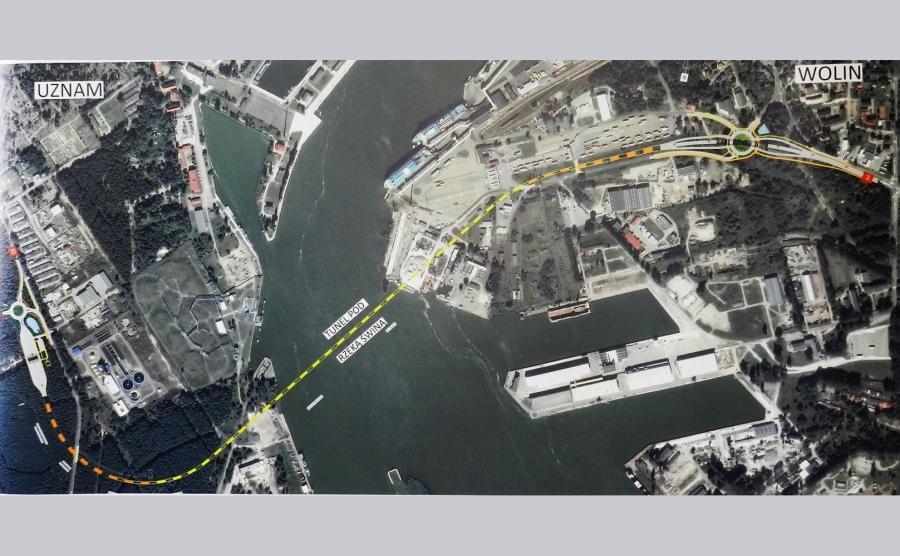 Wybudują tunel łączący wyspy Uznam i Wolin w Świnoujściu