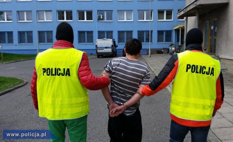 KWP Bydgoszcz: Zatrzymany mężczyzna