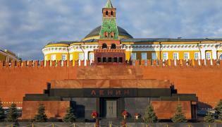 Mauzoleum Lenina w Moskwie