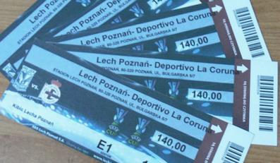 Chcieli zarobić na meczu Lecha - fałszerze biletów zatrzymani