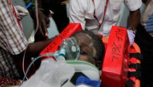 Kobieta przeżyła 6 dni pod gruzami