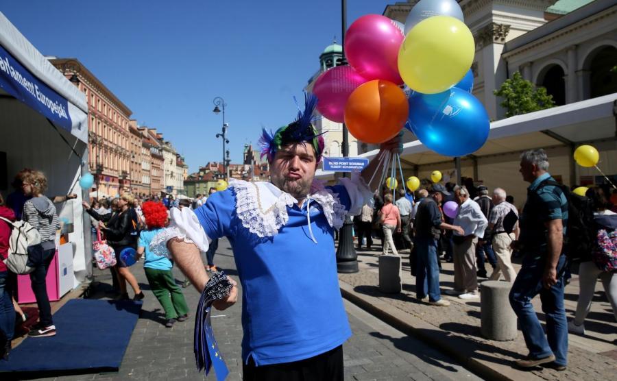 Festyn europejski i Parada Schumana w Warszawie