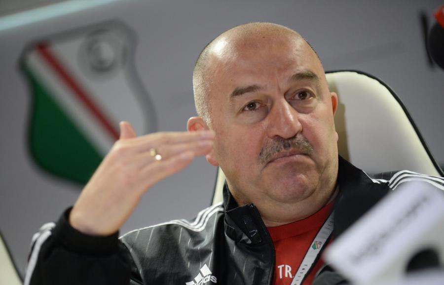 Trener Legii Warszawa Stanisław Czerczesow