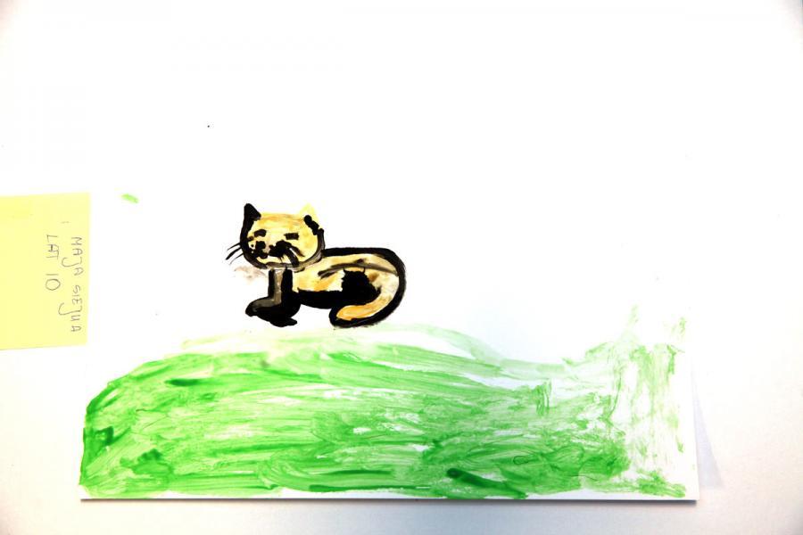 Autor rysunku: Maja Siejka, lat 10